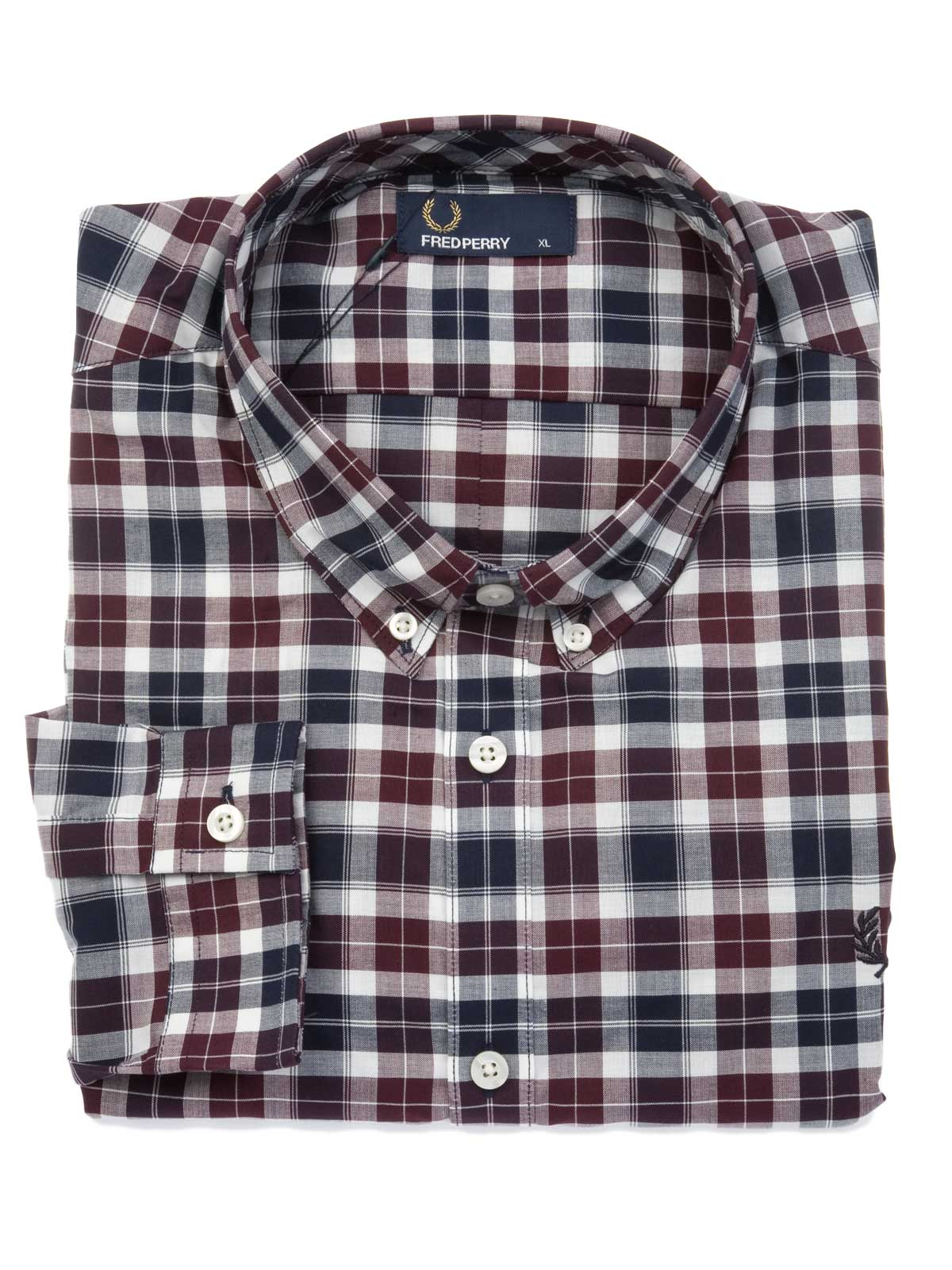 Picture of FRED PERRY | Reverse Tartan Shirt