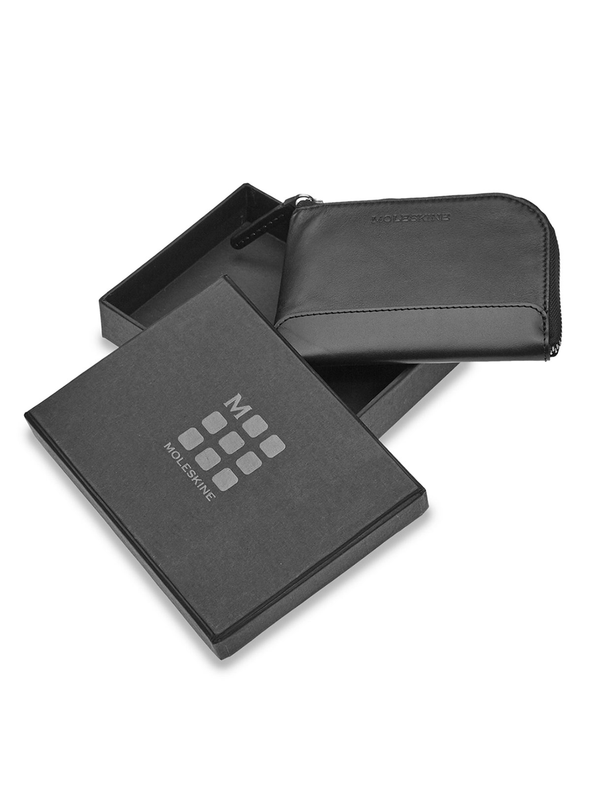 Picture of Moleskine | Wallet Classic Lth Smart Wallet Black