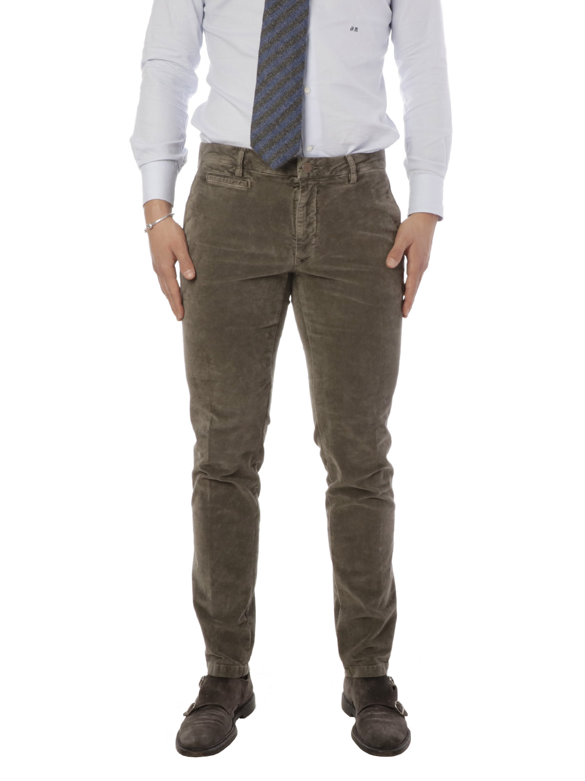 Picture of IL DROP | TROUSERS PANTALONE