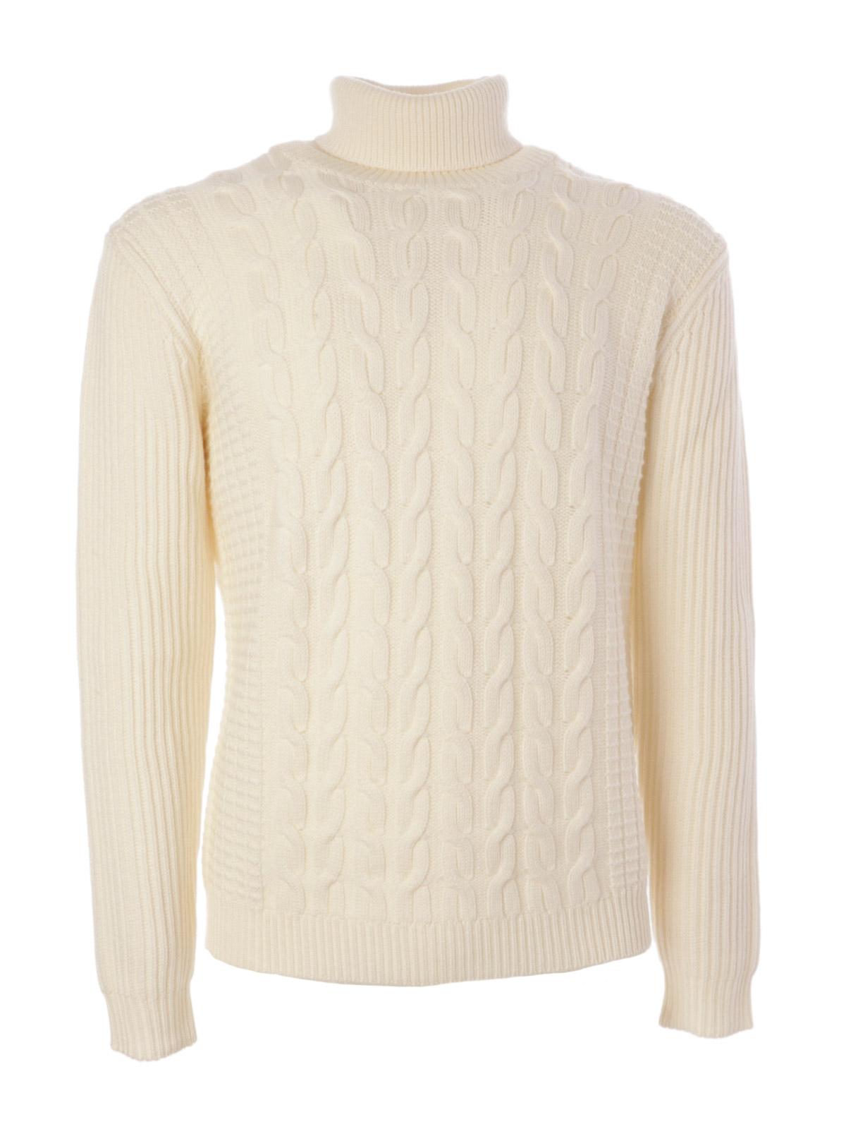 Picture of ALTEA | Men's Turtleneck Cable Sweater