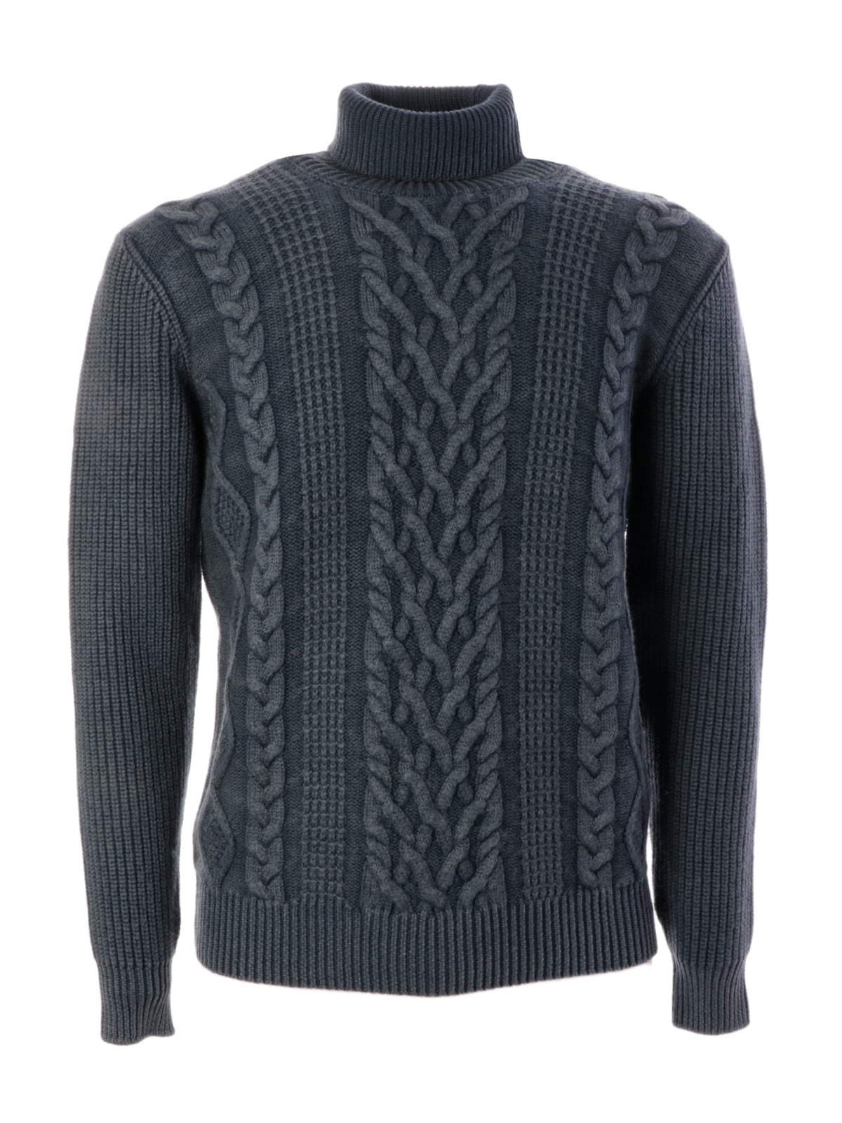Picture of ALTEA | Men's Turtleneck Fisherman Sweater