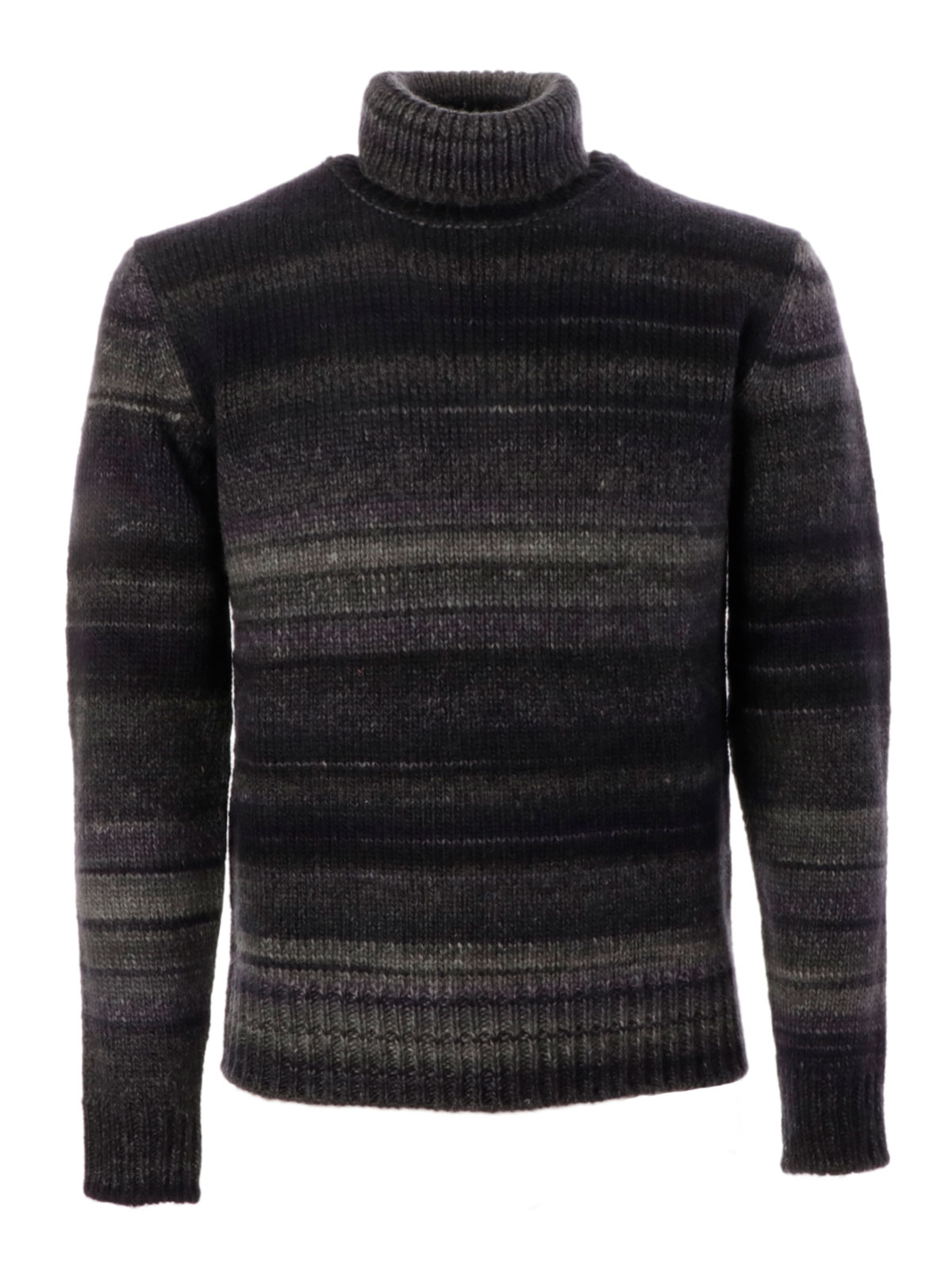 Picture of ALTEA | Men's Turtleneck Striped Sweater