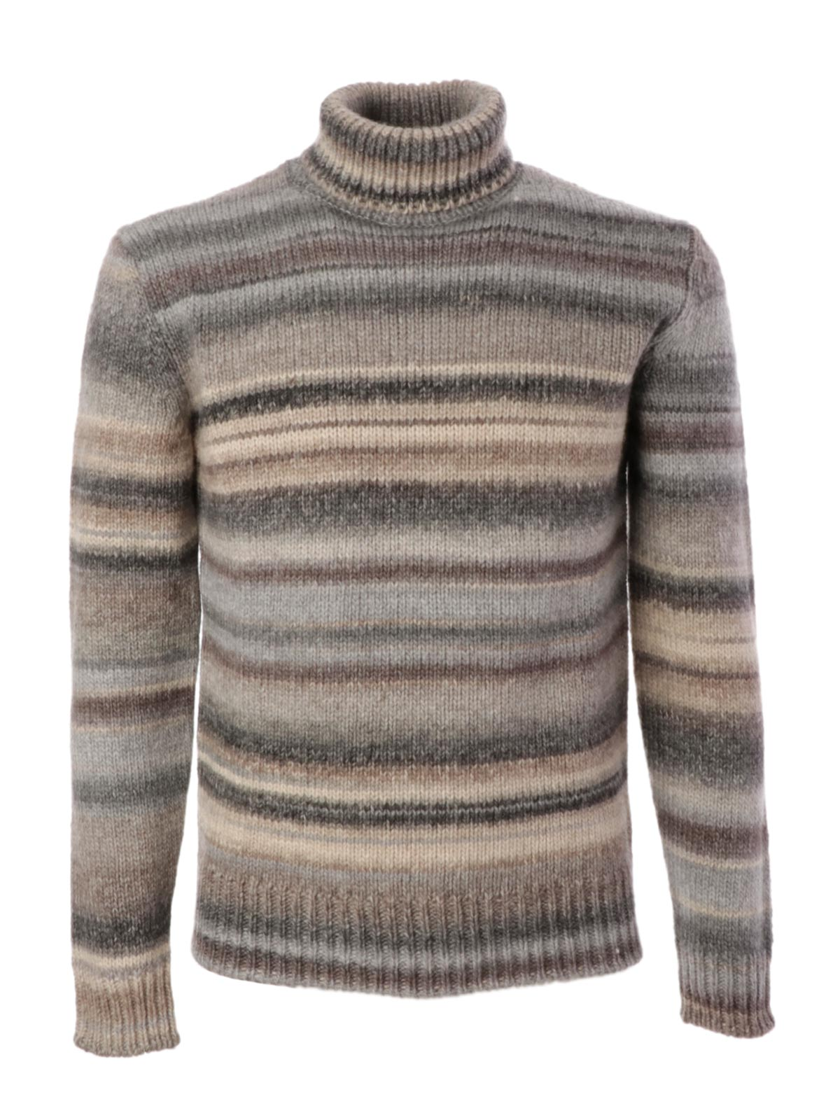 Picture of ALTEA | Men's Turtleneck Striped Sweater