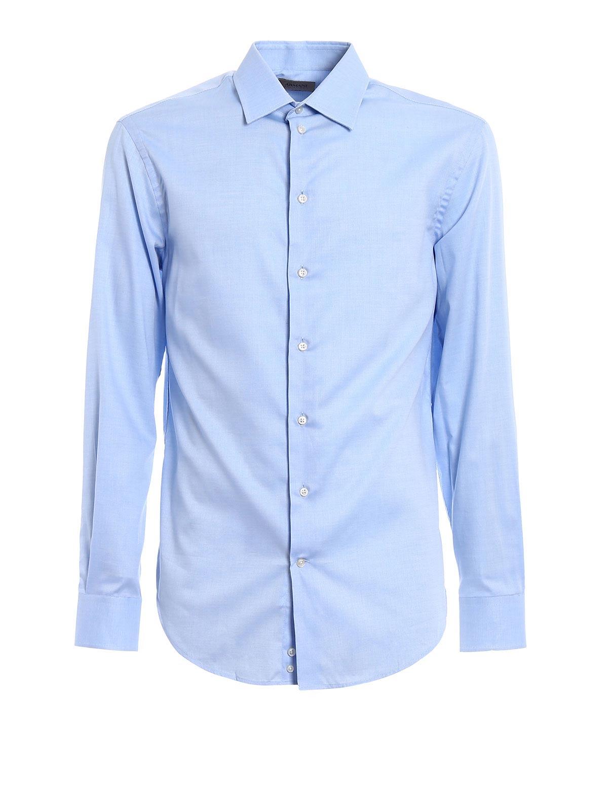 Immagine di ARMANI | Camicie Camicia in cotone modern fit