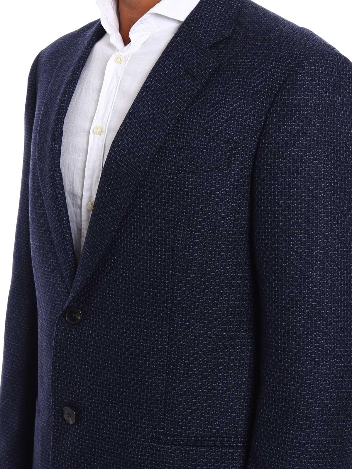 Immagine di ARMANI | Giacche Giacca in lana jacquard