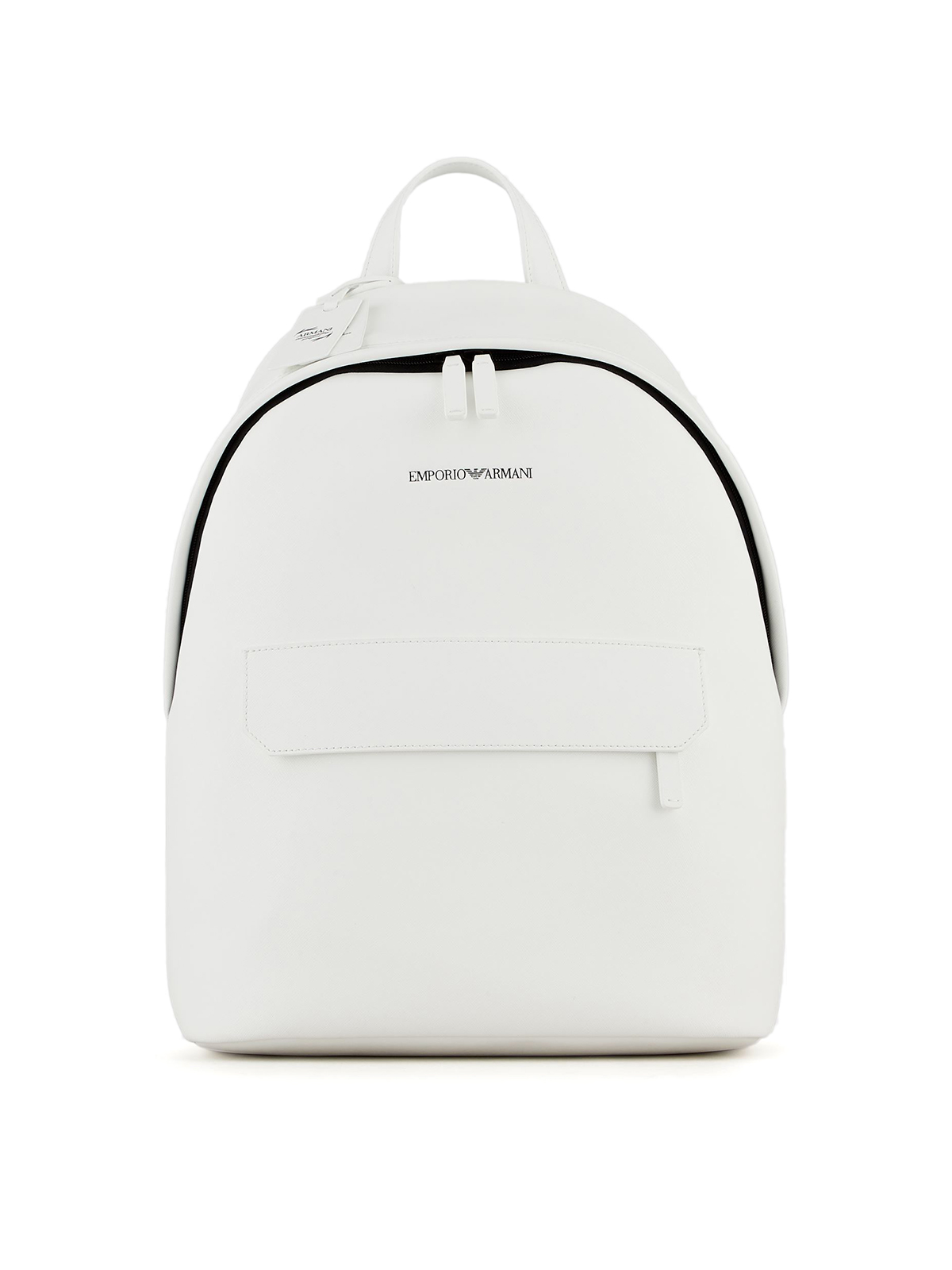Picture of EMPORIO ARMANI | Men's Regenerated Leather Backpack