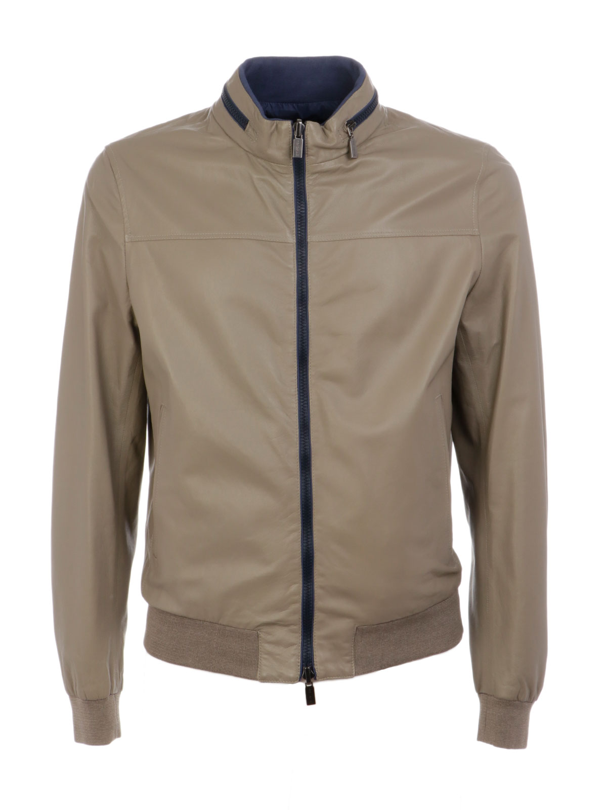 Picture of GIMO'S | Men's Reversible Leather Jacket