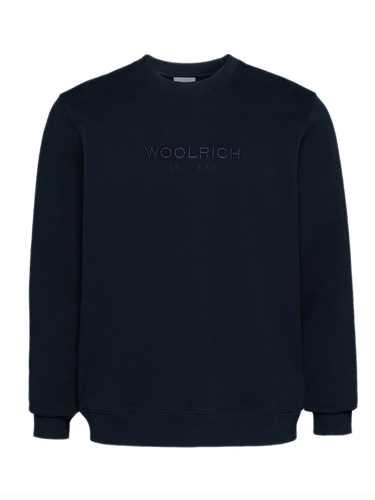 Picture of WOOLRICH | Men's Logo Crewneck Sweatshirt