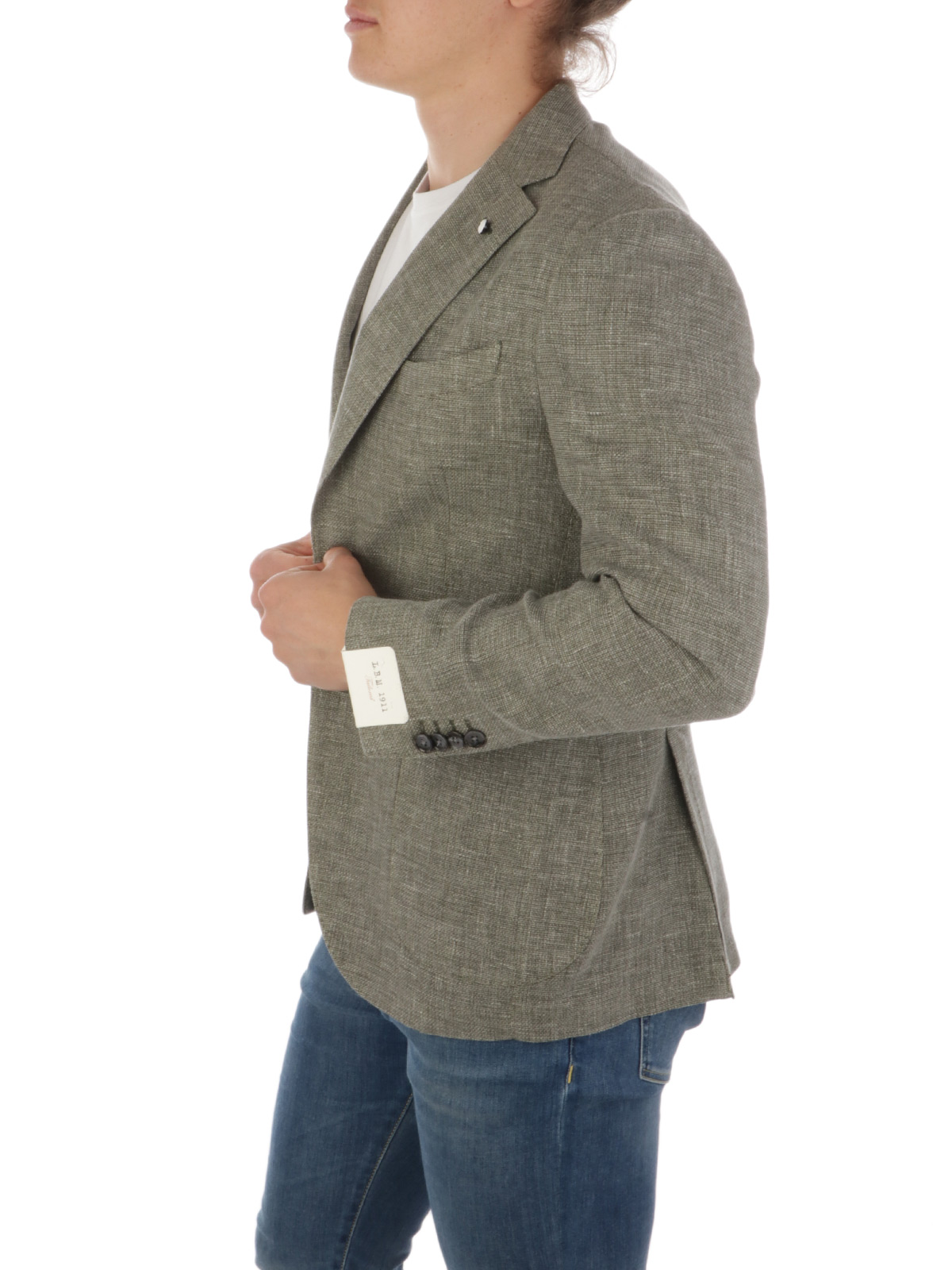 Picture of LBM 1911 | Men's Wool and Linen Blazer