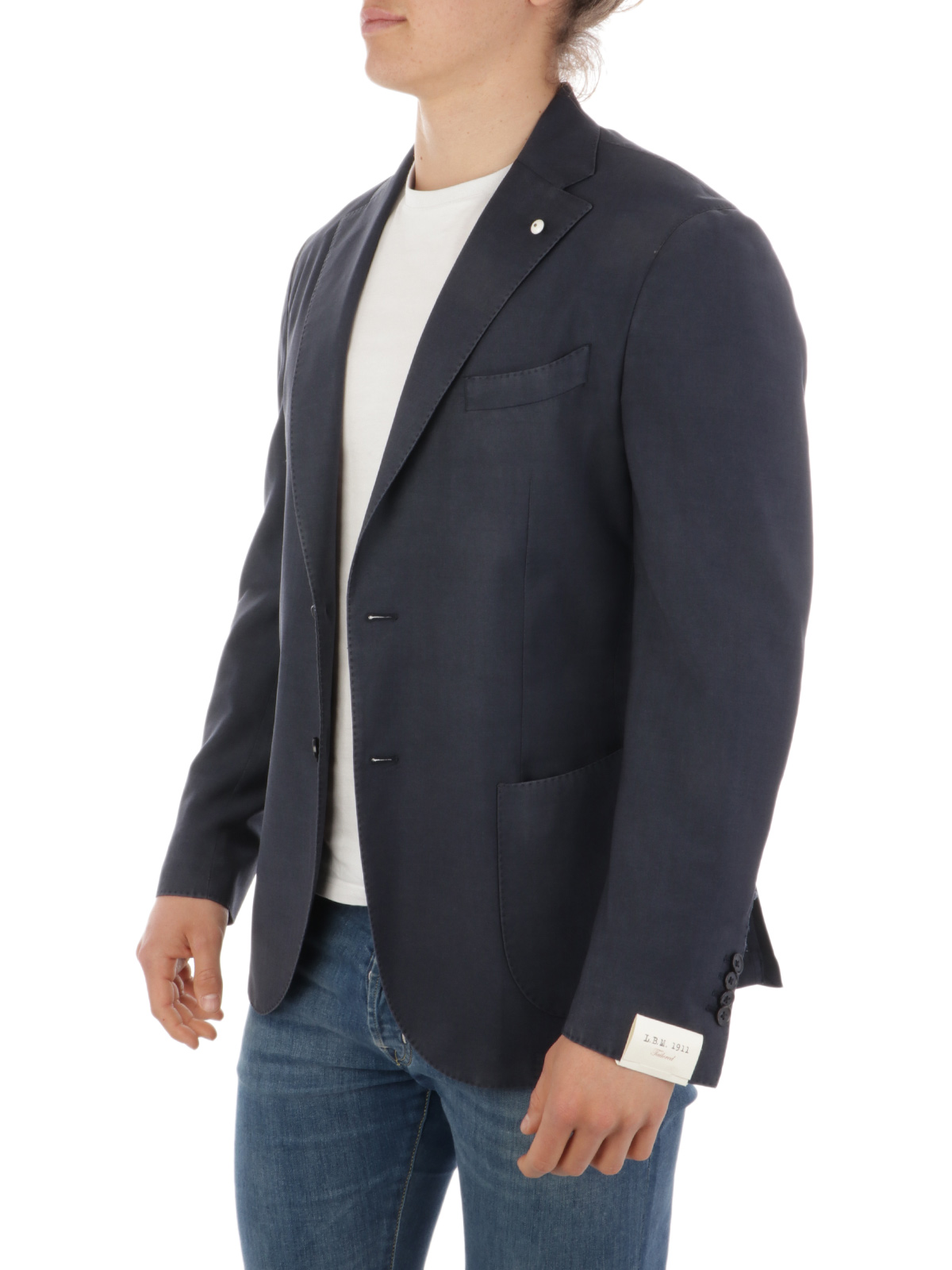 Picture of LBM 1911 | Men's Wool and Mohair Blazer