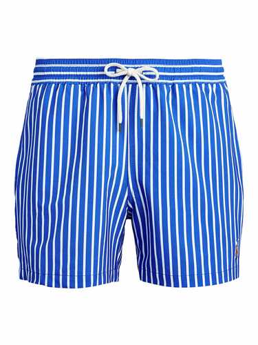 Picture of POLO RALPH LAUREN | Men's Striped Stretch Swim Shorts