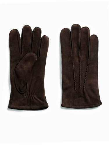 Picture of GANT | Men's Suede Gloves