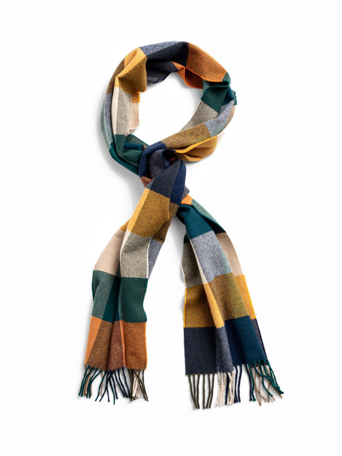Picture of GANT | Men's Multi Check Wool Scarf