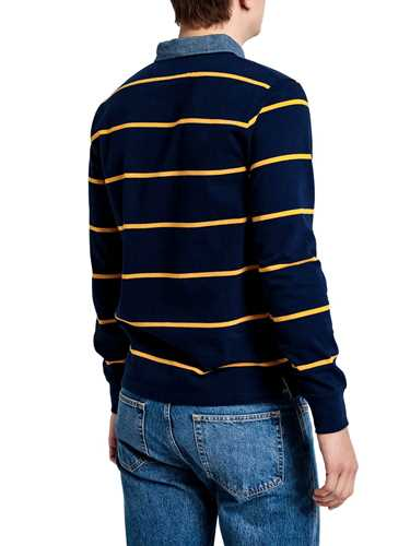 Picture of GANT | POLO D2. BRETON STRIPE HEAVY RUGGER