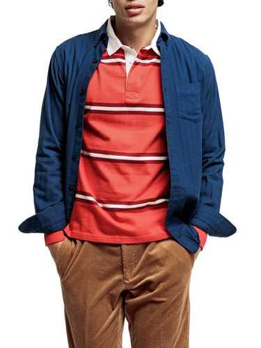 Picture of GANT | Camicie D2. TP HERRINGBONE SOLID REG BD