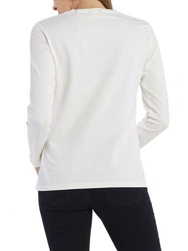Picture of GANT | T-SHIRT COTT/ELA C-NECK LS T-SHIRT