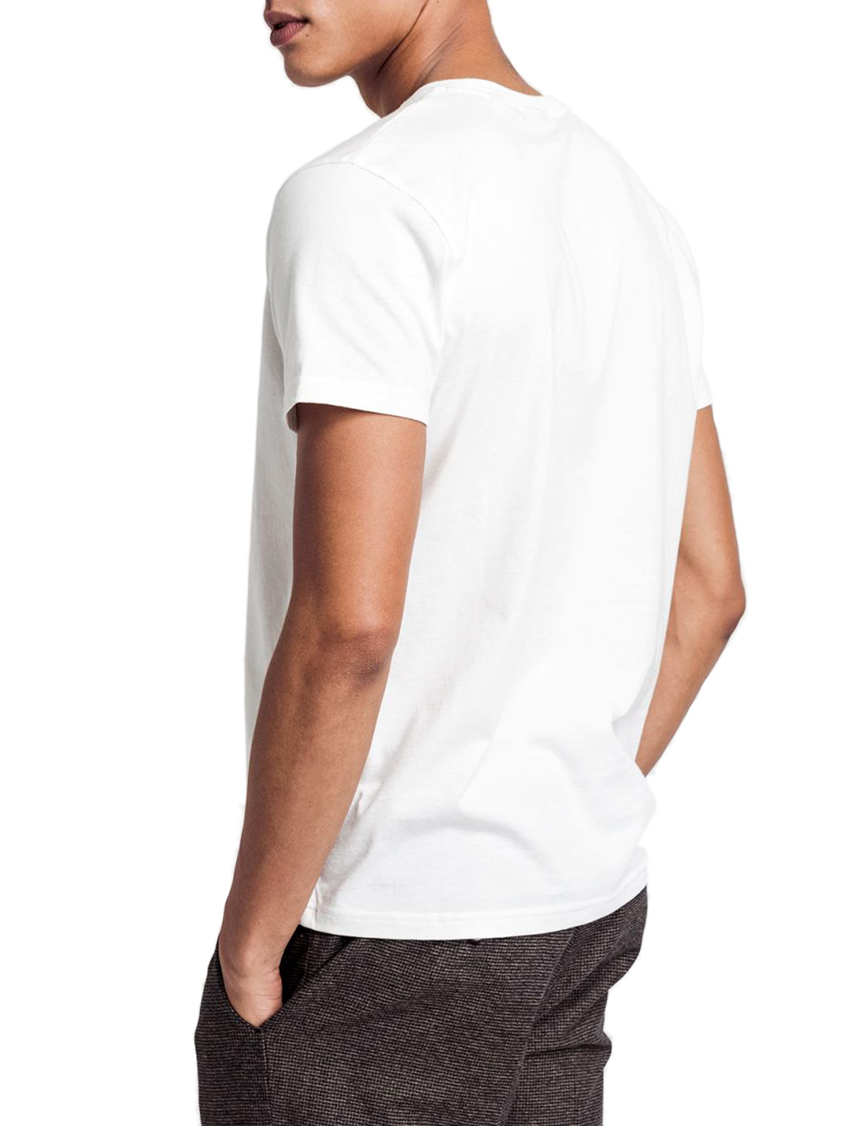 Picture of GANT | T-SHIRT D1. GANT LOCK - UP SS T - SHIRT