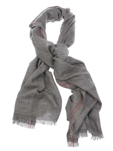 Picture of CORNELIANI | Men's Houndstooth Cashmere Scarf