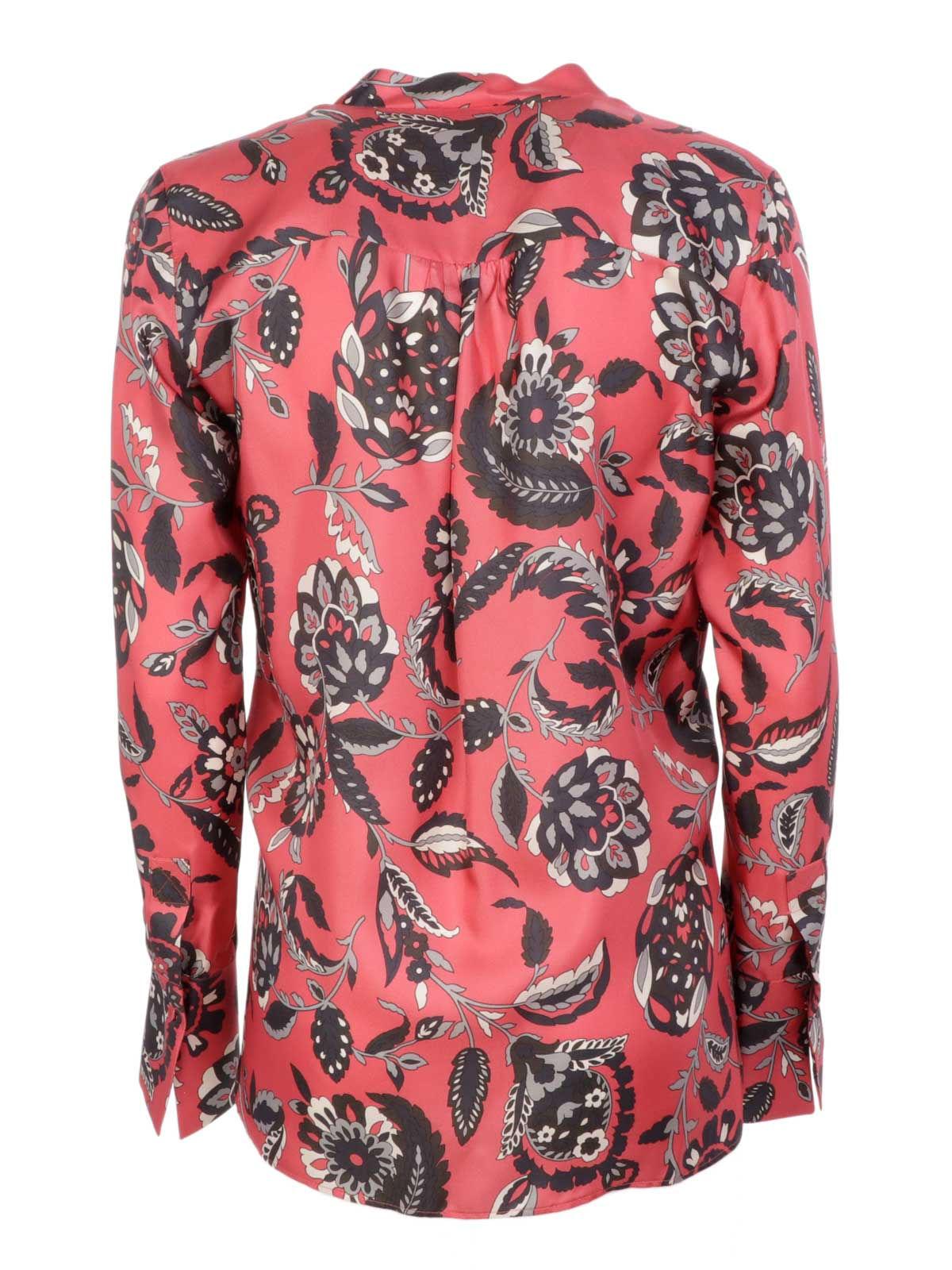 Picture of CALIBAN | Women's Printed Silk Blouse