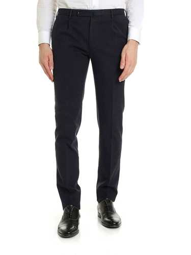 Picture of INCOTEX | Men's Slim Fit Check Trousers
