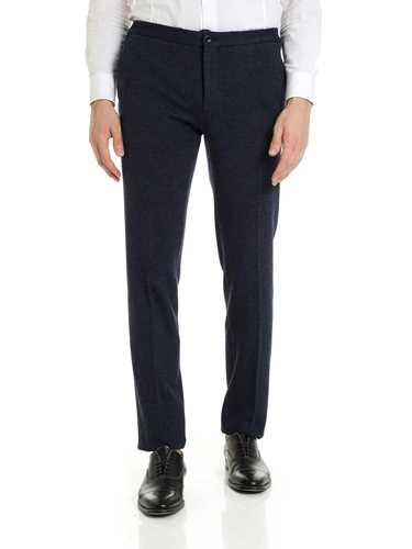 Picture of INCOTEX | Men's Cotton and Wool Trousers