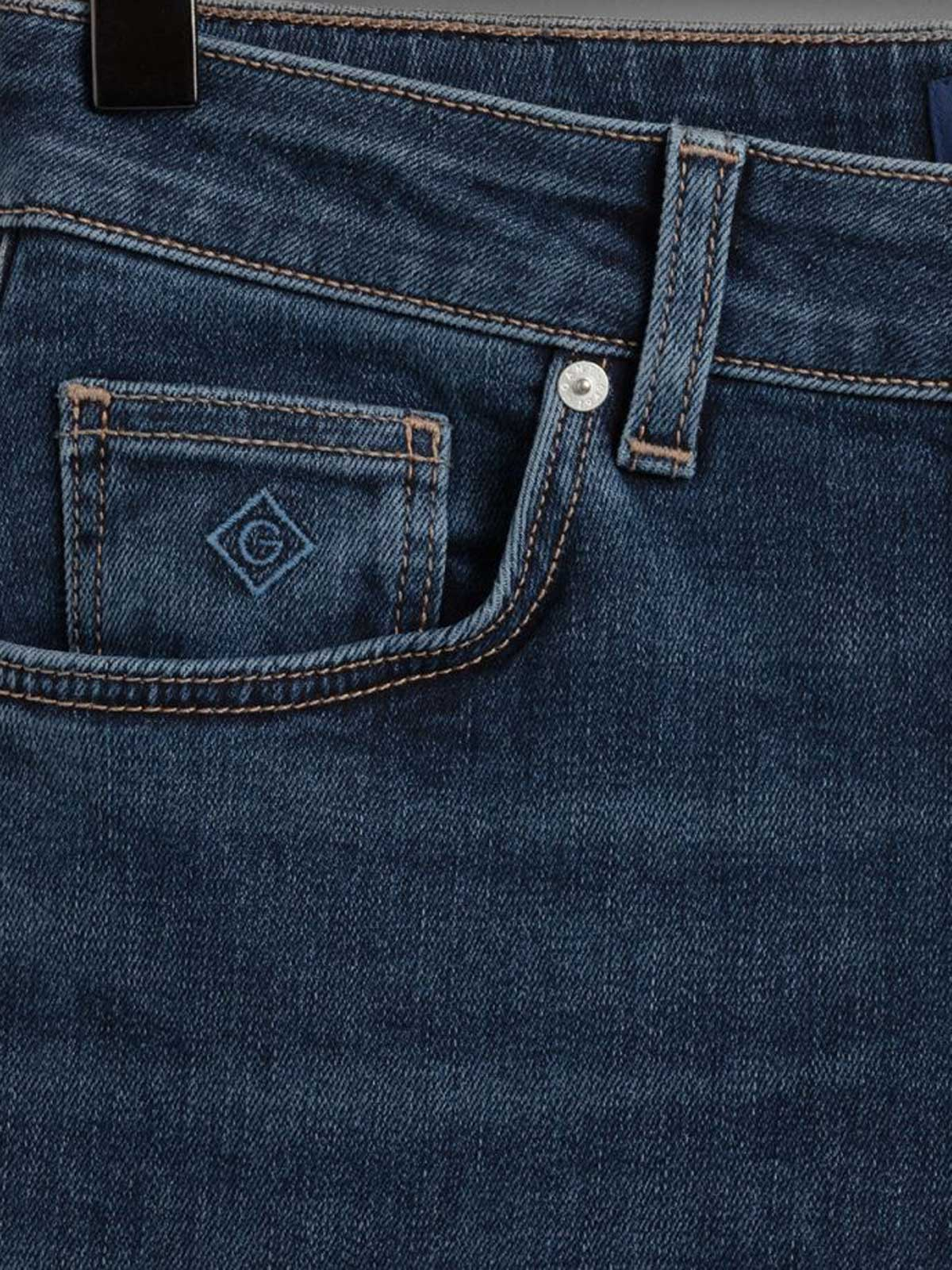 Picture of Gant | Jeans Slim Super Stretch Jeans