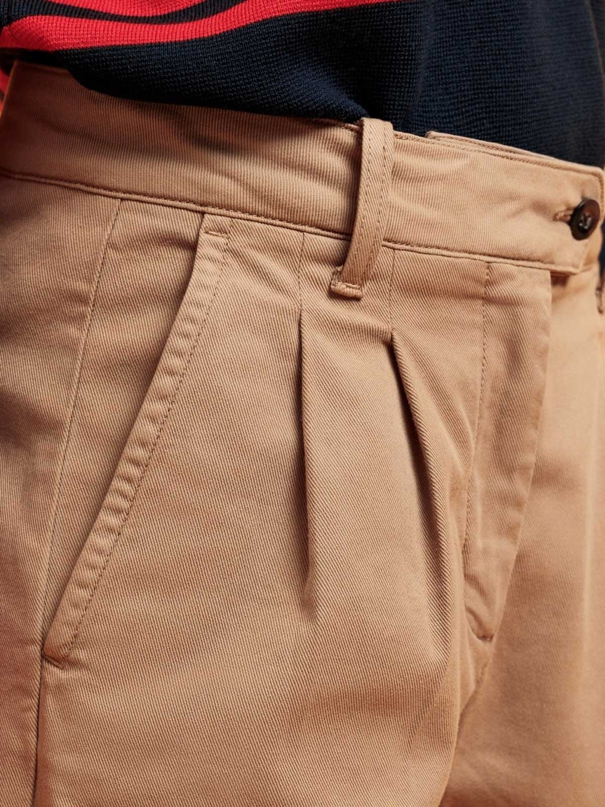 Picture of Gant | Trousers D1. Hw Pleated Chino