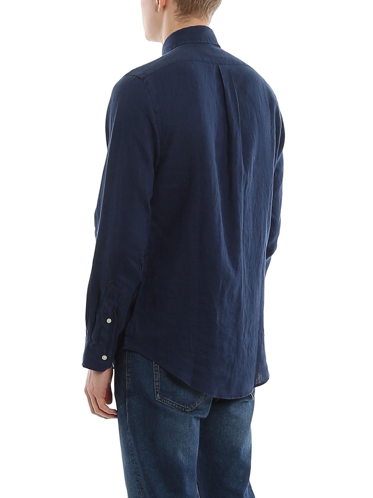 Picture of POLO RALPH LAUREN | Men's Linen Slim Fit Shirt