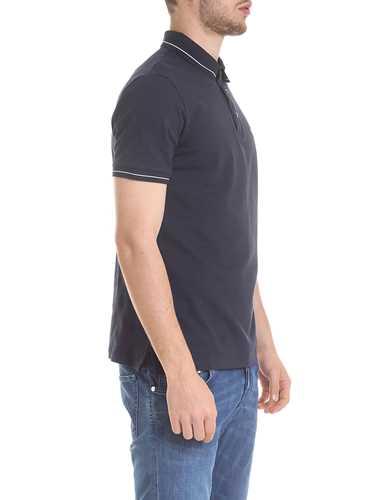 Picture of EMPORIO ARMANI | Men's Stretch Polo Shirt