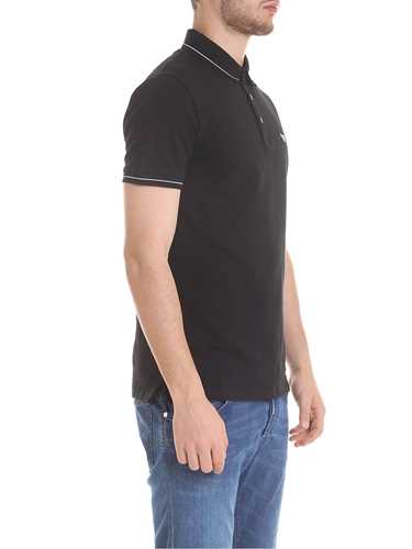 Picture of EMPORIO ARMANI | Men's Stretch Polo Shirt