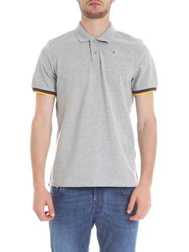 Picture of K-WAY | Men's Vincent Contrast Polo Shirt