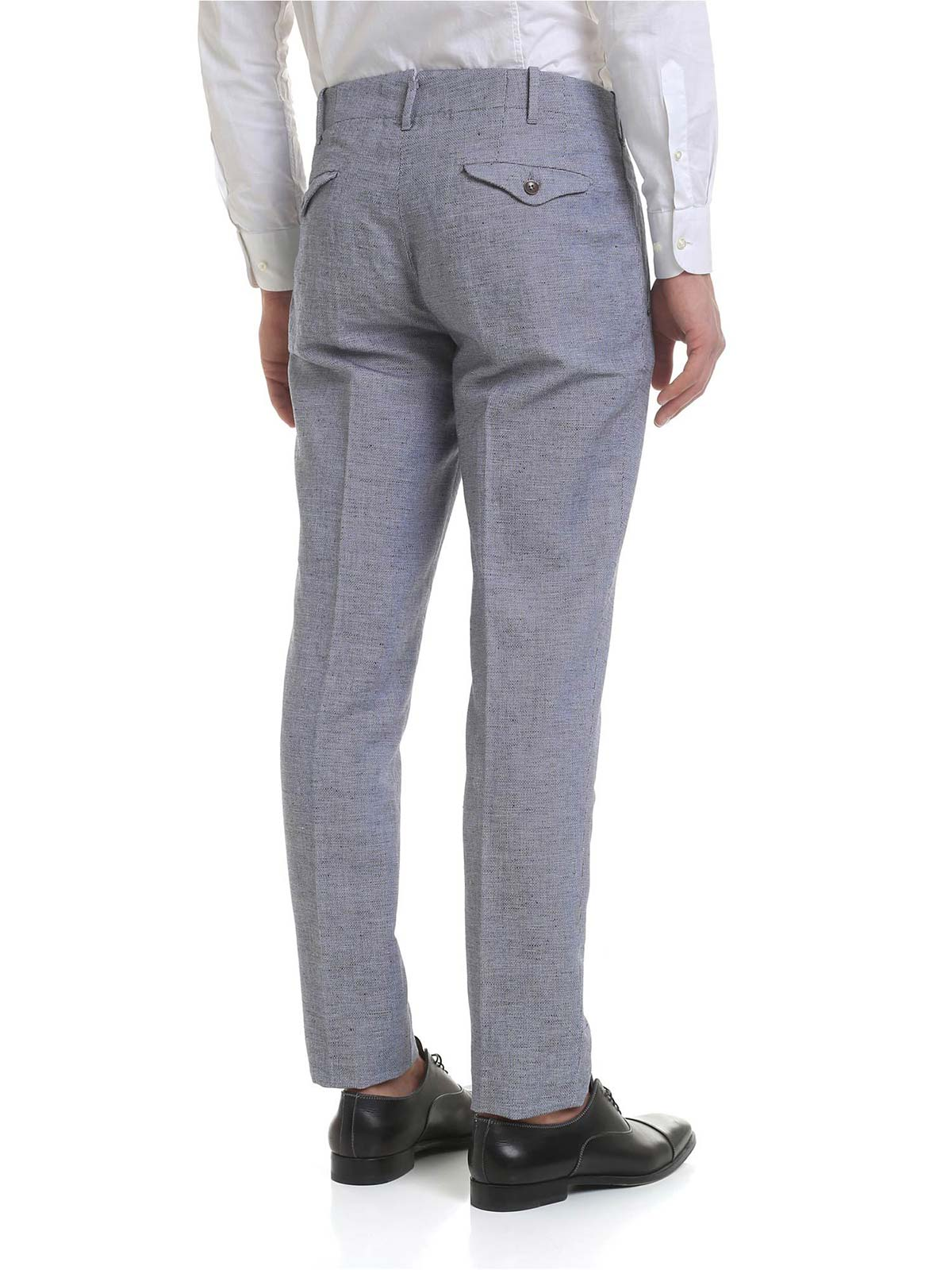 Picture of INCOTEX   Men's Linen Trousers