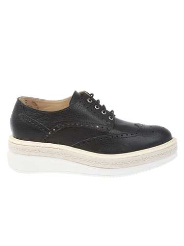 Picture of PEPEROSA | Perforated Leather Shoe