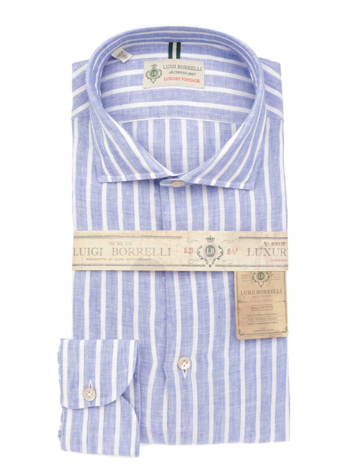 Picture of BORRELLI | Men's Linen Shirt