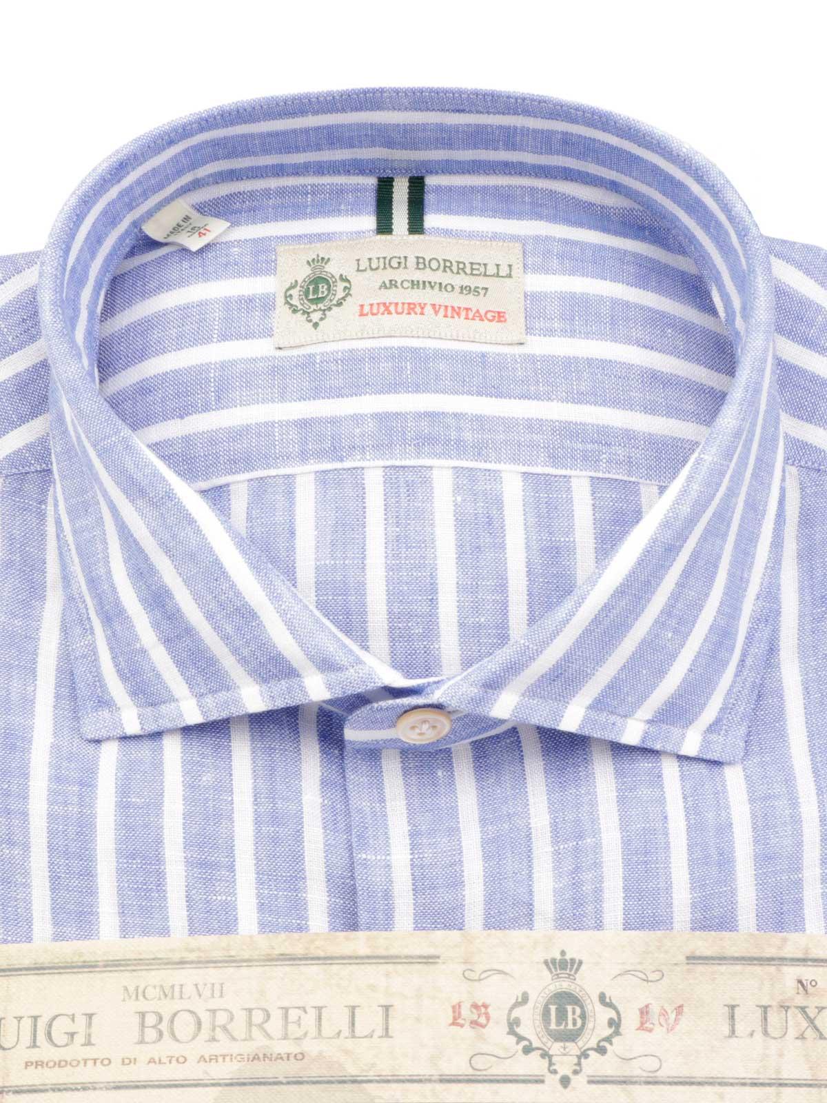 Picture of BORRELLI | Men's Linen Shirt