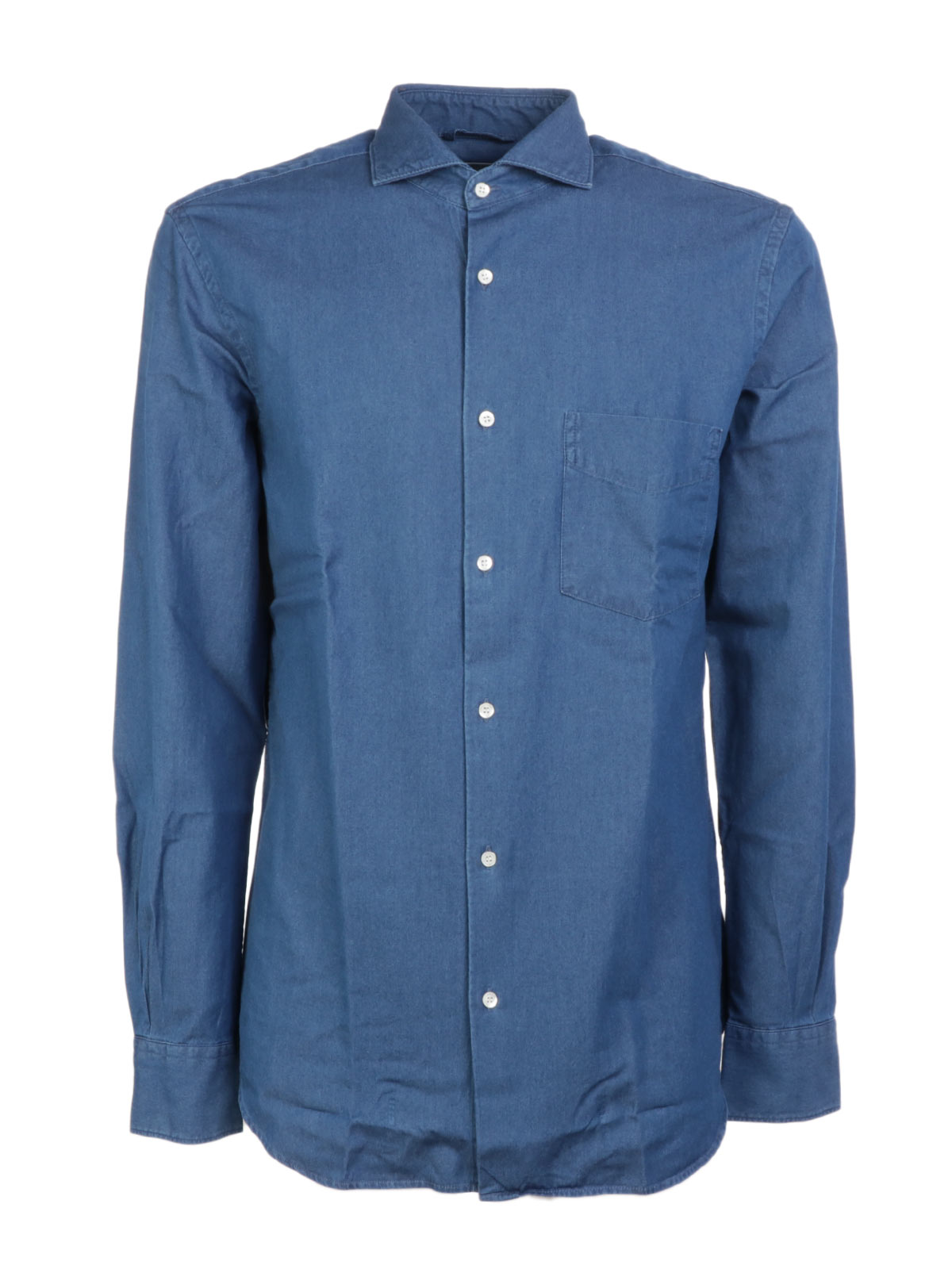 Picture of ASPESI   Men's Denim Shirt