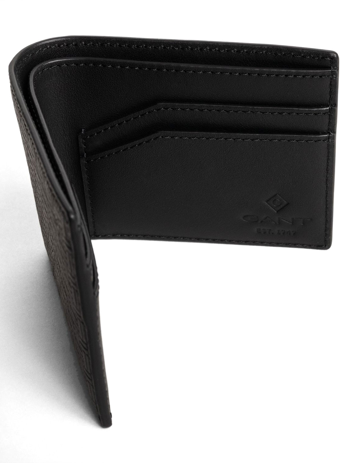 Picture of Gant   Wallet D1. Leather Signature Weave Wallet