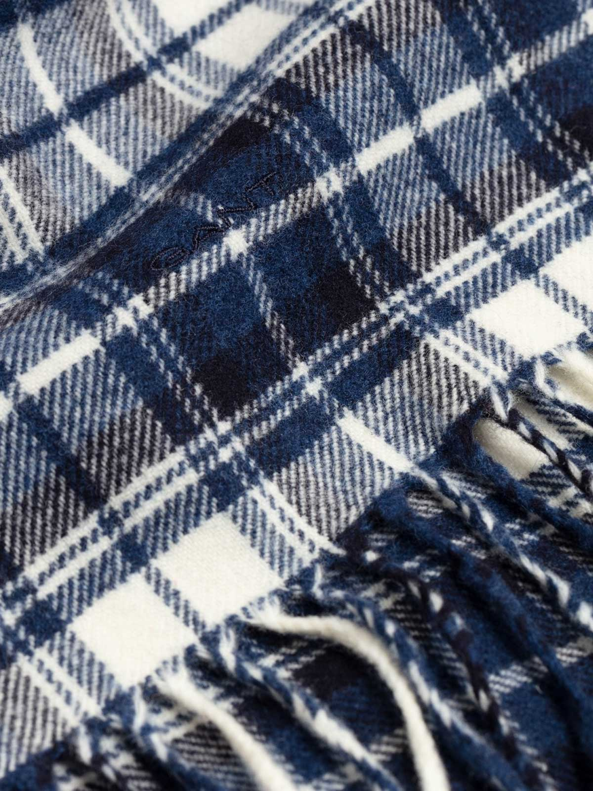 Picture of Gant | Scarf D1. Checked Twill Wool Scarf