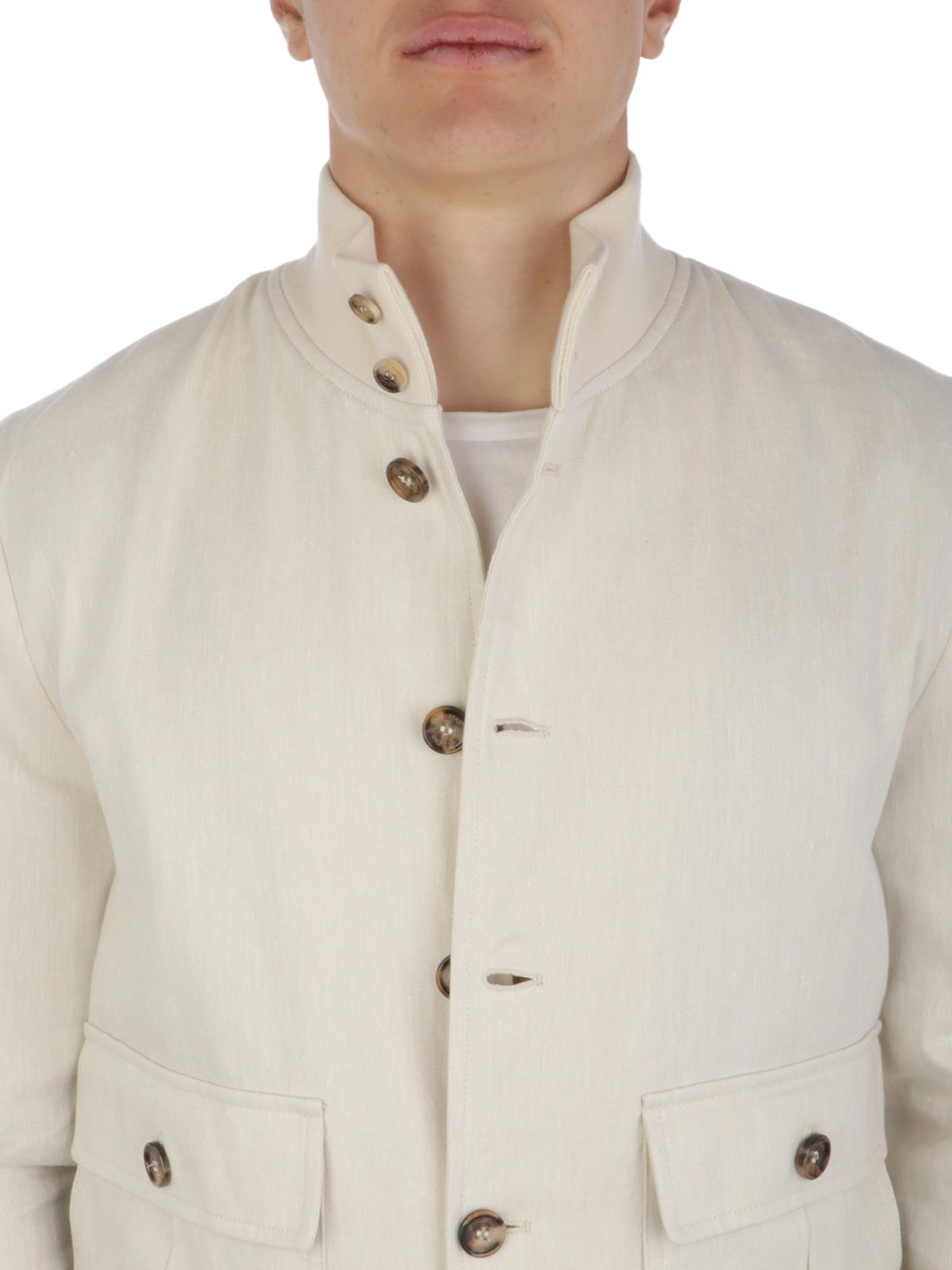 Picture of VALSTAR | Men's Herringbone Linen Jacket