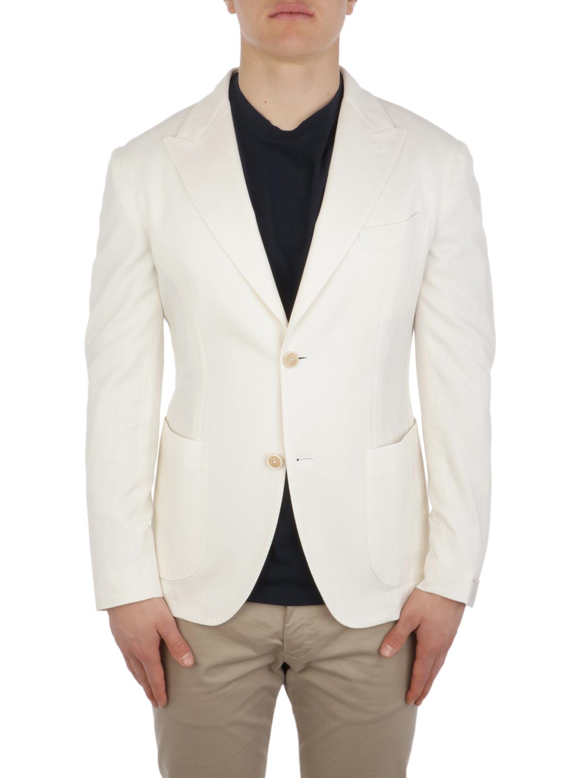 Picture of ELEVENTY | Men's Loro Piana Cotton Blazer