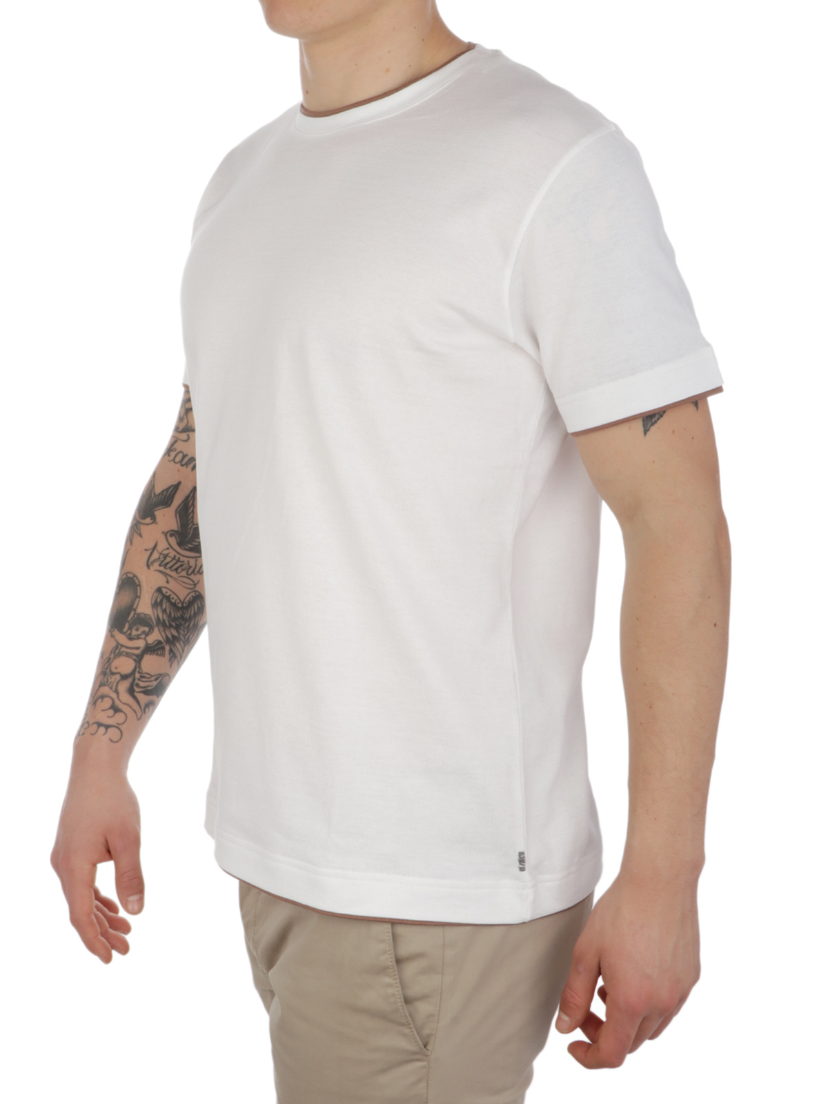 Picture of ELEVENTY | Men's T-Shirt with Borders