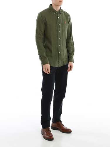 Immagine di POLO RALPH LAUREN | Camicia Uomo in Lino Slim Fit