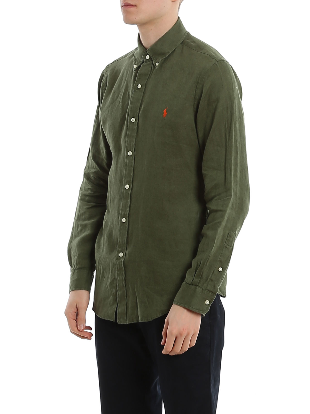 Picture of POLO RALPH LAUREN | Men's Linen Slim Fit Shirt