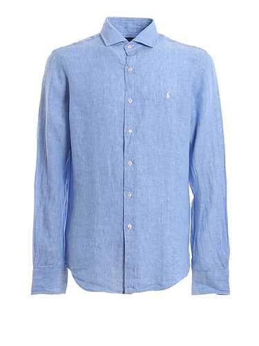 Picture of POLO RALPH LAUREN | Men's Linen French Collar Shirt