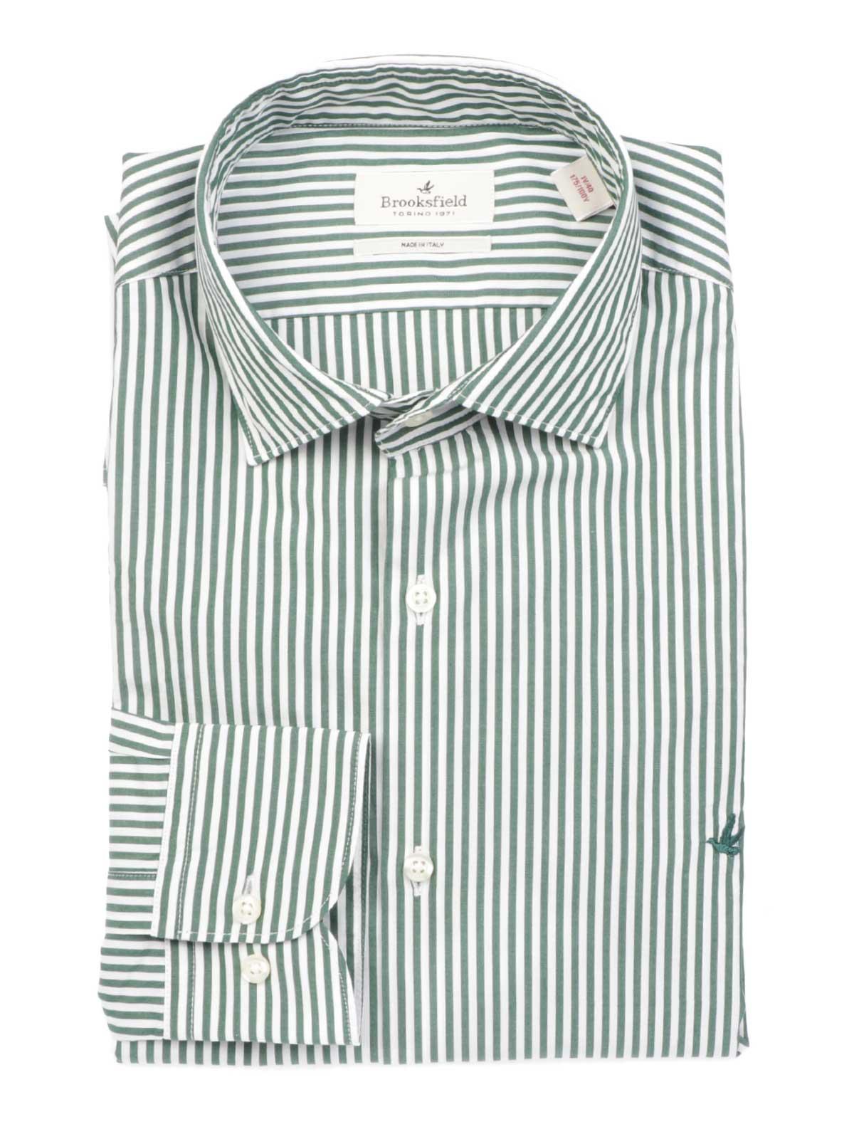 Picture of BROOKSFIELD   Men's Slim Fit Poplin Shirt
