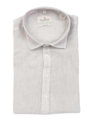 Picture of BROOKSFIELD | Men's Short Sleeves Linen Shirt