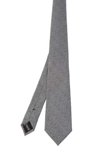 Picture of ARMANI | Micro Patterned Tie