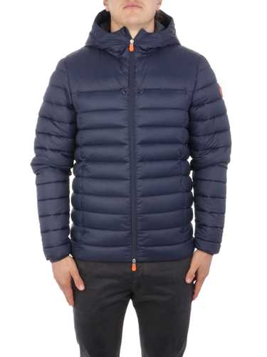 Picture of SAVE THE DUCK   Men's Hooded Down Jacket D3923M
