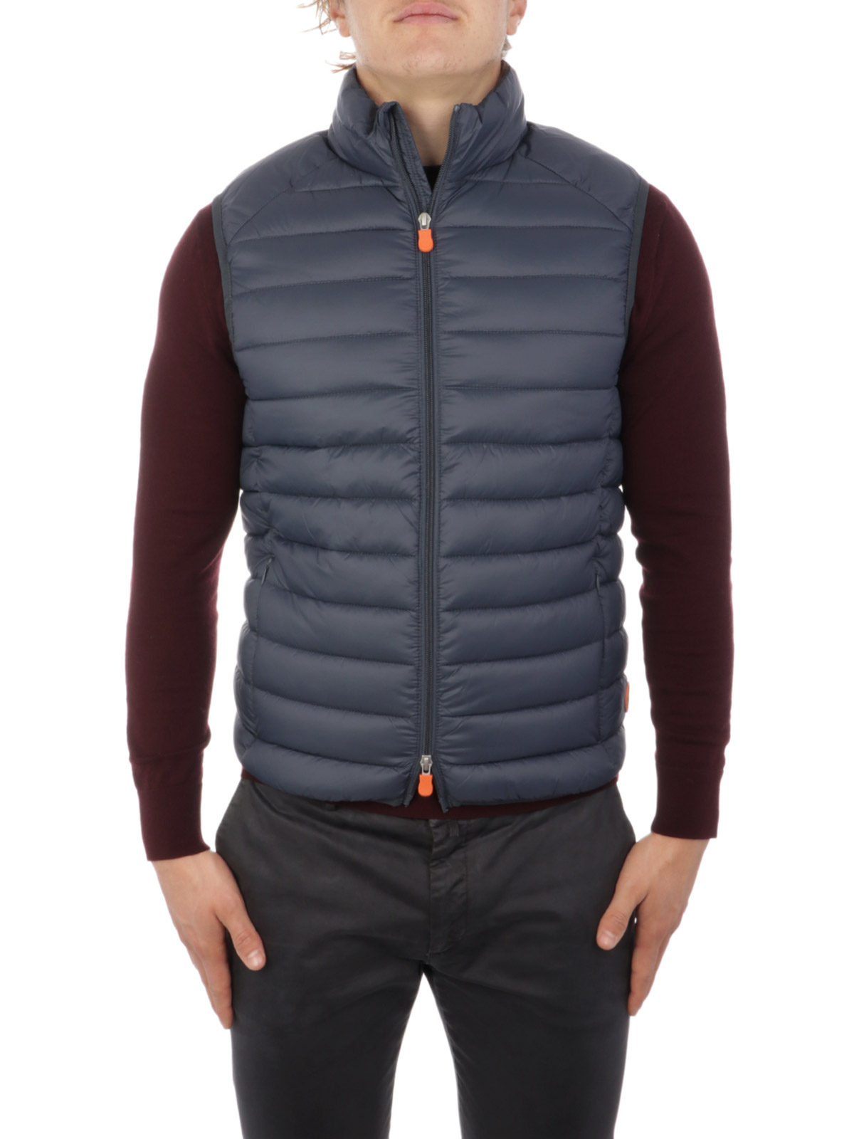 Picture of SAVE THE DUCK   Men's Padded Vest D8241M