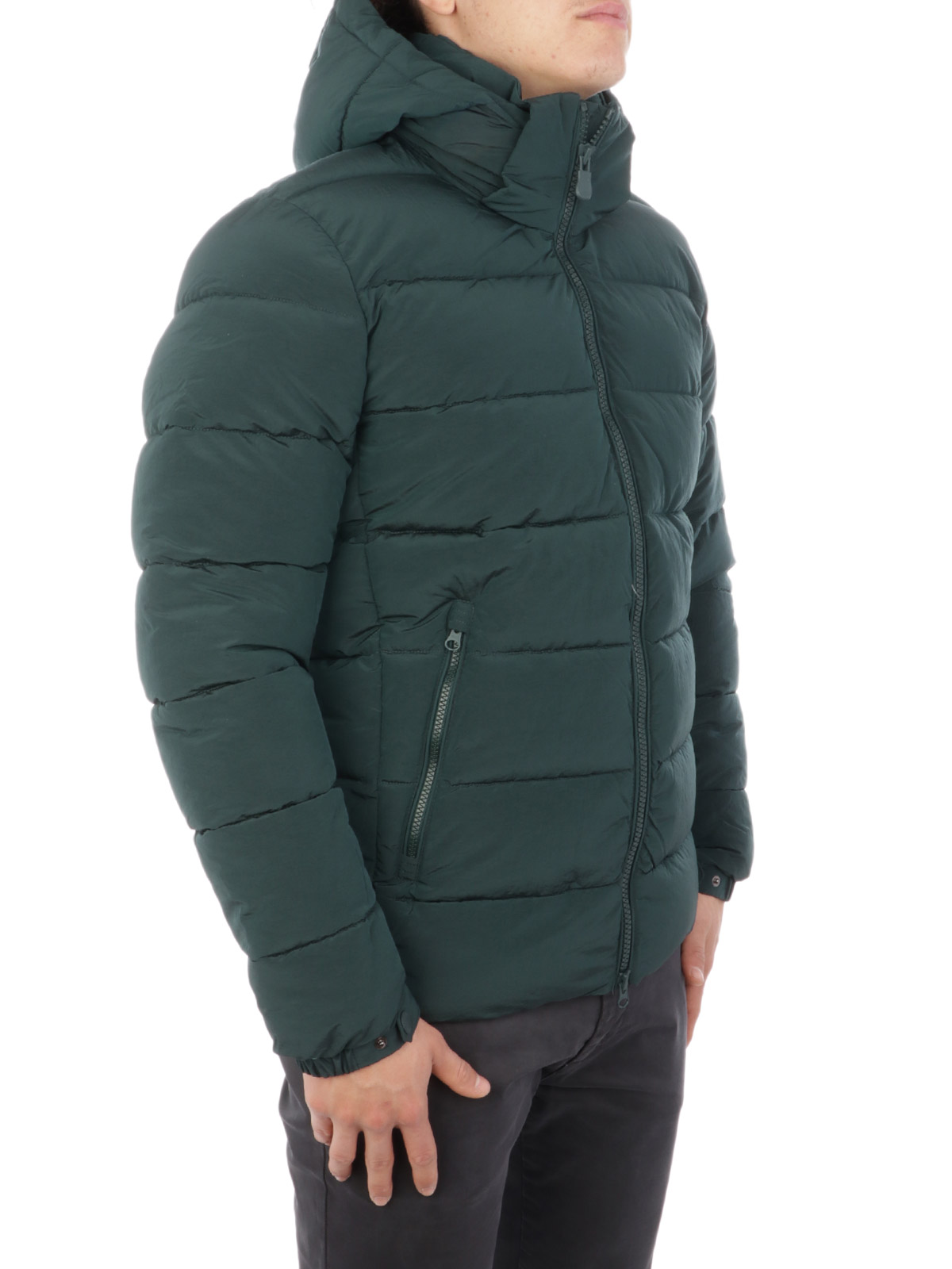 Picture of SAVE THE DUCK   Men's Matte Padded Jacket D3556M